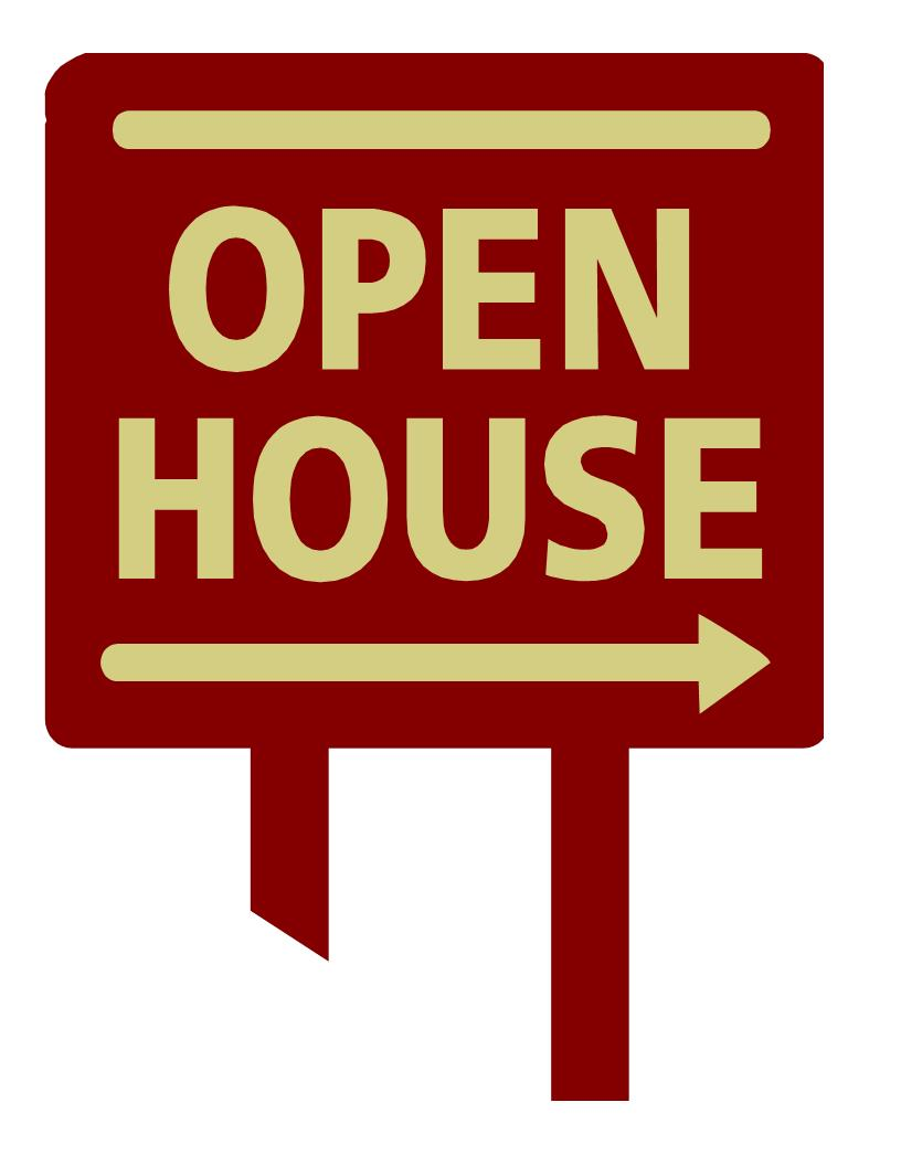 free clip art open house - photo #9